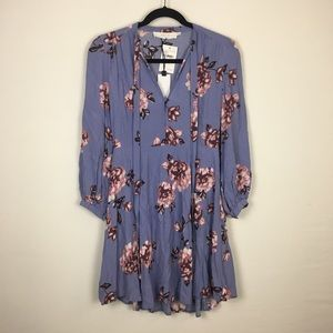 NWT ASTR The Label Floral Peasant Dress